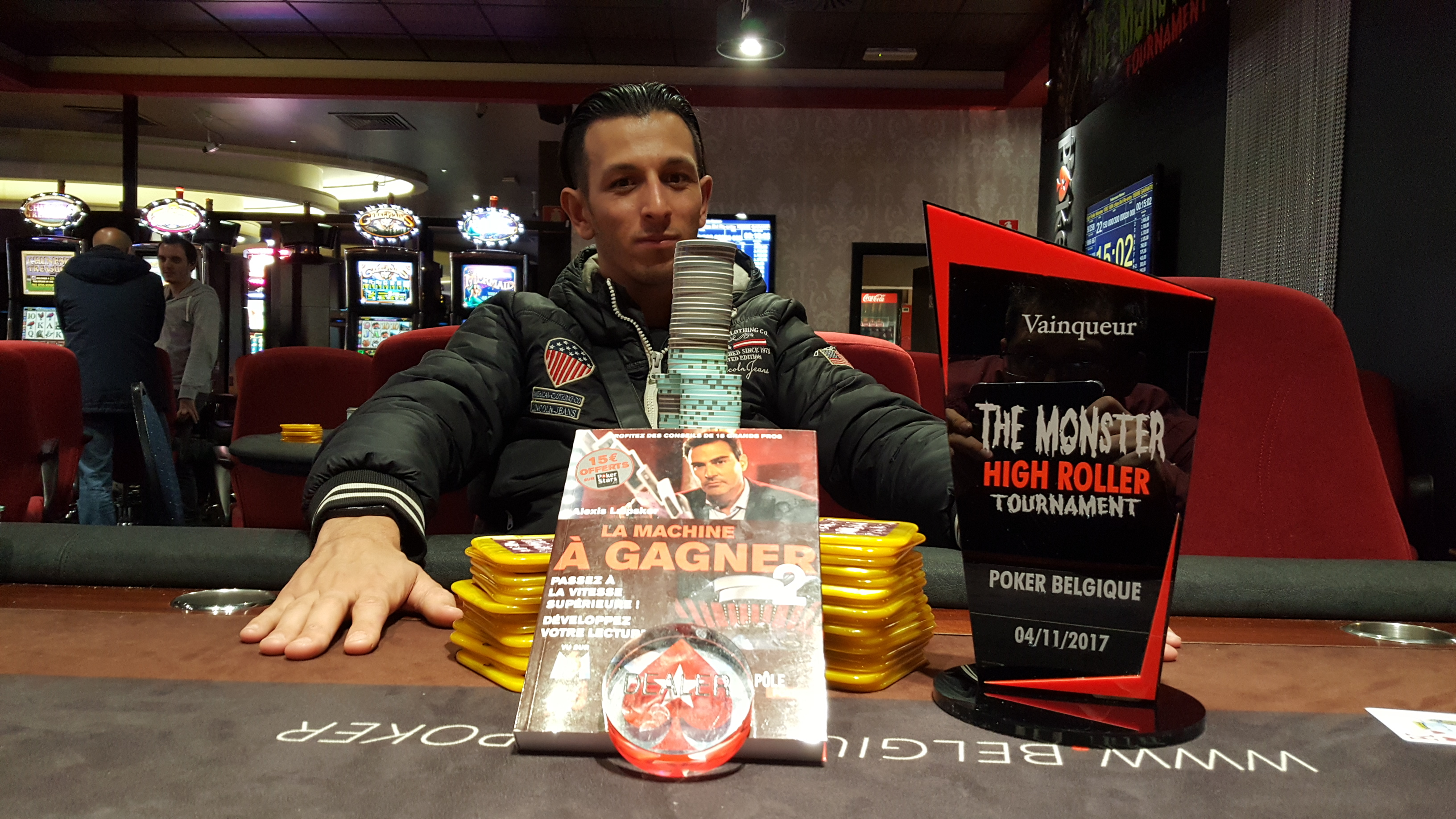 High Roller Monster- Poker Room Namur